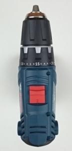 Die Draufsicht des GSR 18V-21 Professional