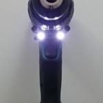 Foto von dem Doppel-LED-Licht des Makita DHP 481 RTJ